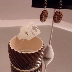 Esmor bracelet & Earrings. L39-8